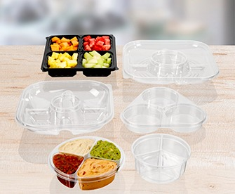 Plastic Party Platters
